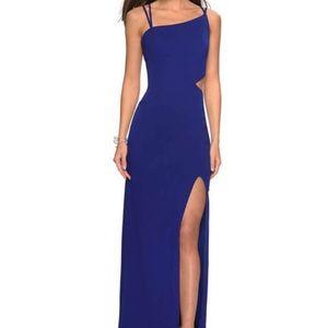 LA FEMME | Royal Blue Formal Dress | 2